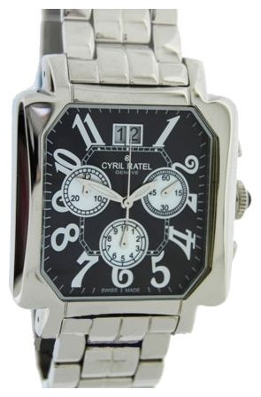 Wrist watch Cyril ratel 350405.302 for Men - picture, photo, image