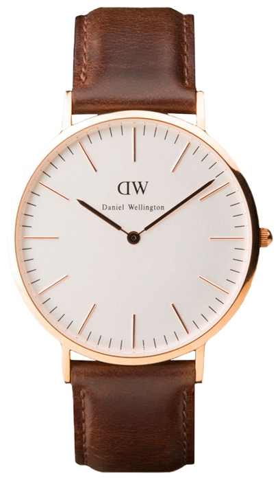 Wrist watch Daniel Wellington Classic Bristol gold for Men - picture, photo, image