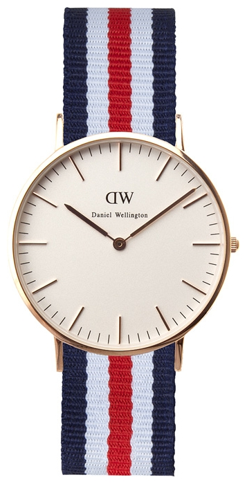 Wrist watch Daniel Wellington Classic Canterbury Lady gold for women - picture, photo, image