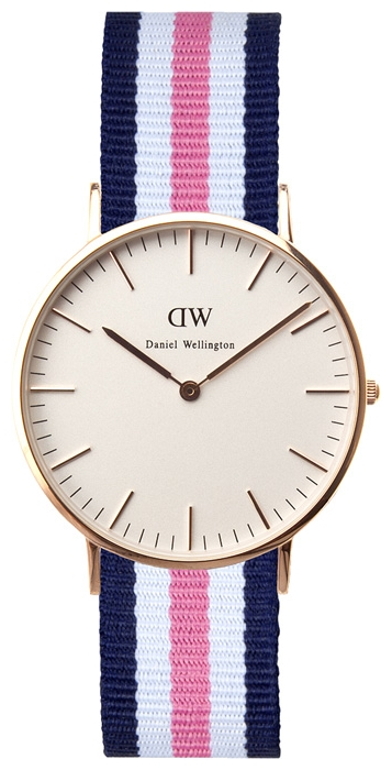 Wrist watch Daniel Wellington Classic Southampton Lady gold for women - picture, photo, image