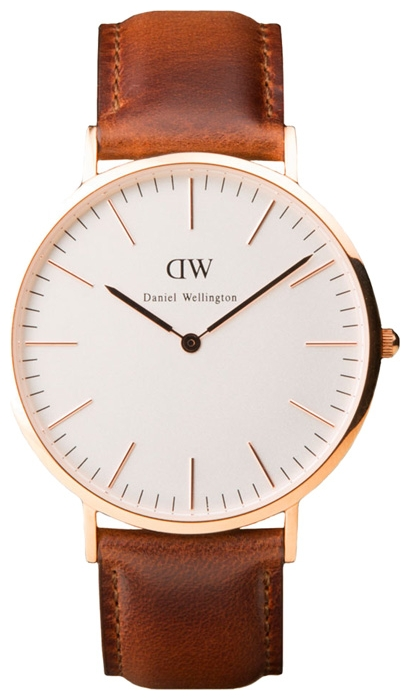 Wrist watch Daniel Wellington Classic St. Andrews Gold for Men - picture, photo, image