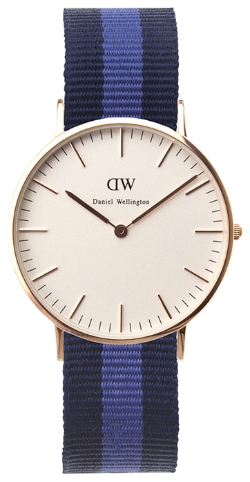 Wrist watch Daniel Wellington Classic Swansea Lady gold for women - picture, photo, image