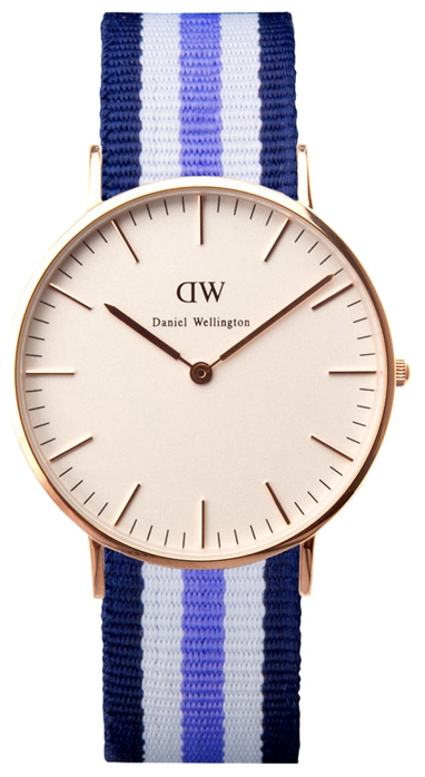 Wrist watch Daniel Wellington Classic Trinity Lady gold for women - picture, photo, image