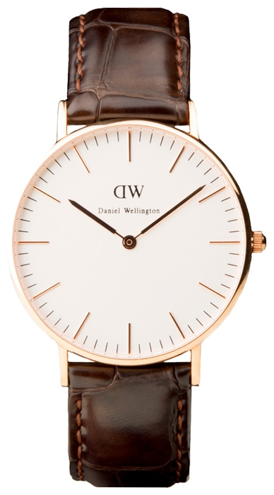 Wrist watch Daniel Wellington Classic York Lady gold for women - picture, photo, image