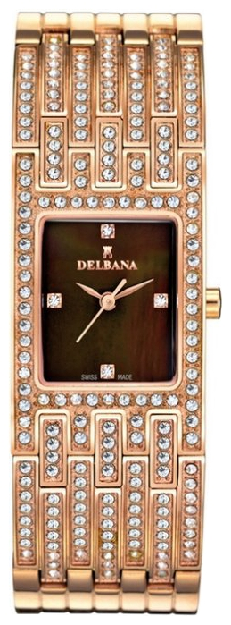 Wrist watch Delbana 43711.539.2.565 for women - picture, photo, image