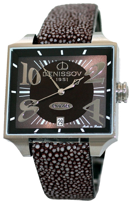 Wrist unisex watch Denissov 955.112.4027.4.R.584 - picture, photo, image