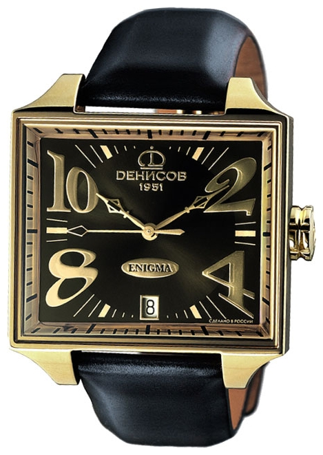 Wrist unisex watch Denissov 955.112.4027.6.G.570 - picture, photo, image