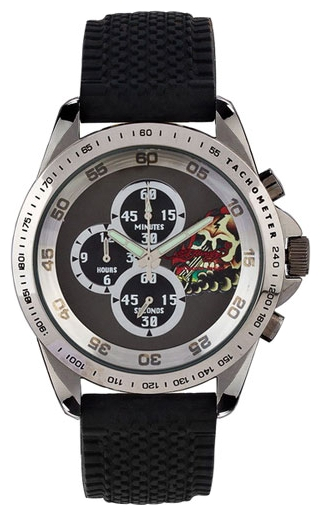 Wrist watch Ed Hardy DR-BK for Men - picture, photo, image