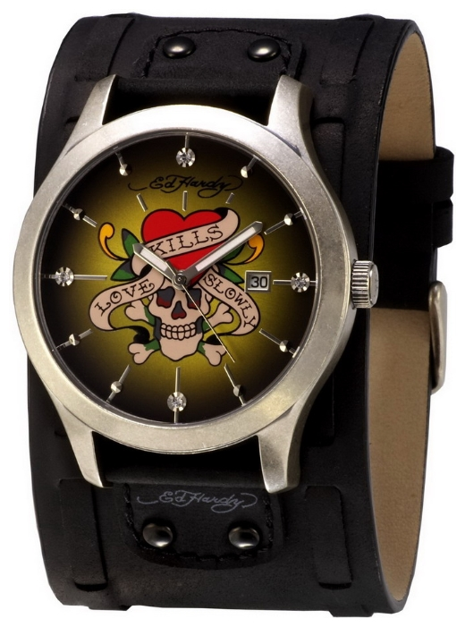 Wrist watch Ed Hardy GL-LK for Men - picture, photo, image