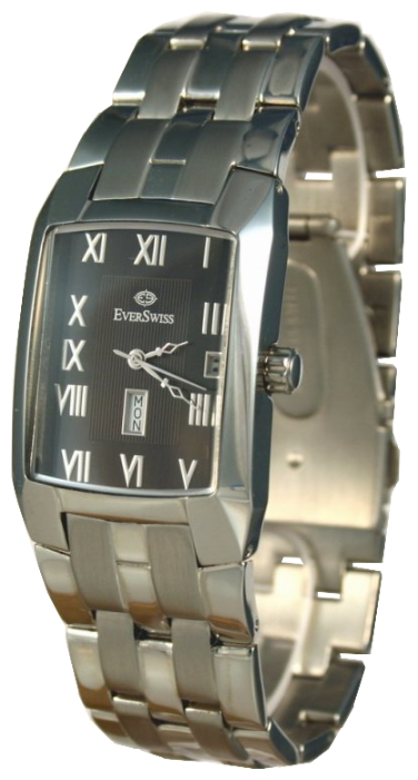 Wrist watch EverSwiss 3264-GSB for Men - picture, photo, image