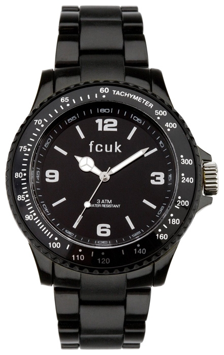 Wrist unisex watch FCUK FC1074BB - picture, photo, image