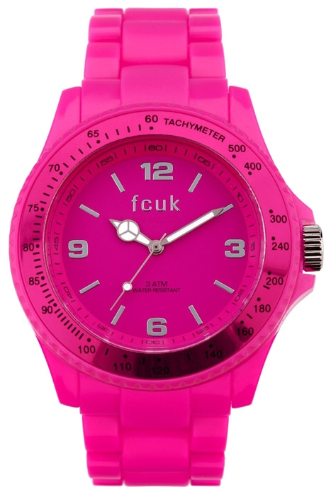 Wrist unisex watch FCUK FC1074PP - picture, photo, image