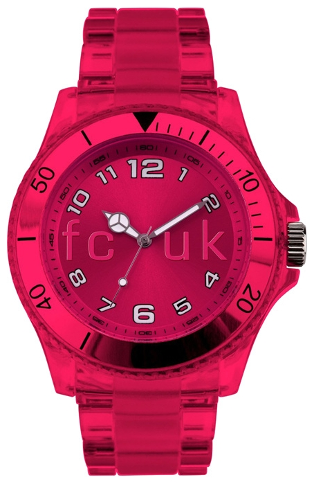 Wrist unisex watch FCUK FC1075PP - picture, photo, image