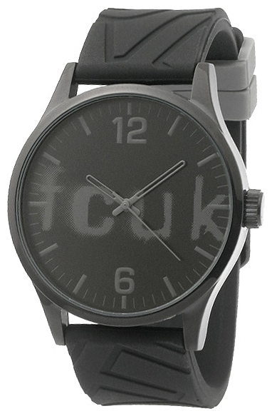 Wrist unisex watch FCUK FC1096BB - picture, photo, image