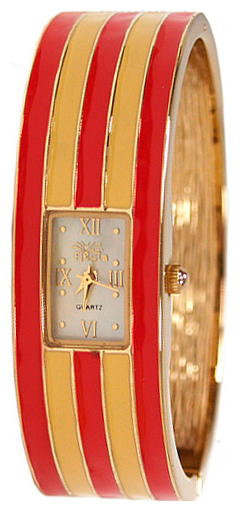 Wrist watch Fiesta FP5717D Red/Beige for women - picture, photo, image