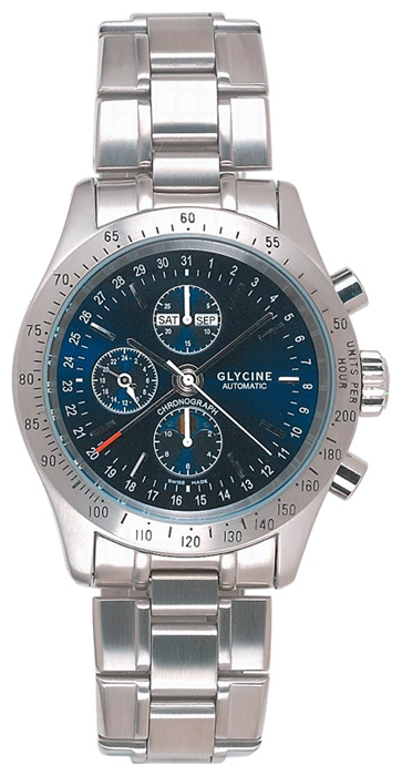 Wrist watch Glycine 3826.18-MB for Men - picture, photo, image