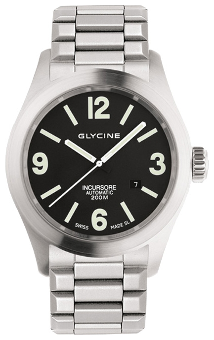 Wrist watch Glycine 3874.19-MB for Men - picture, photo, image