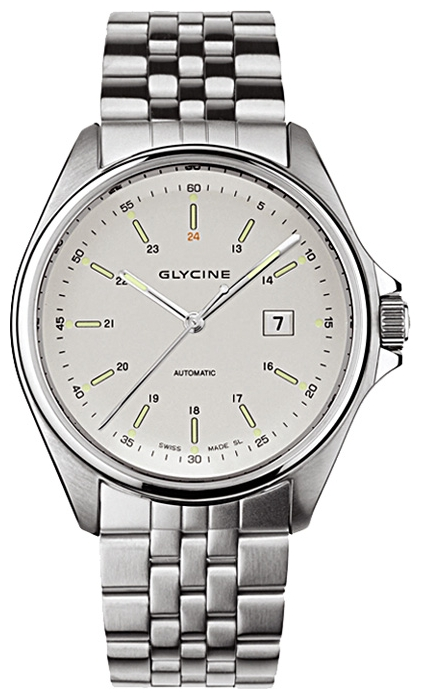 Wrist watch Glycine 3890.11-MB for Men - picture, photo, image