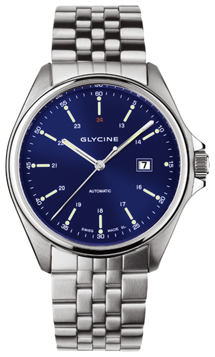 Wrist watch Glycine 3890.18-MB for Men - picture, photo, image