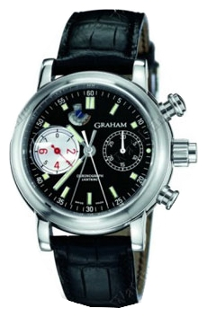 Wrist watch Graham 2LIAS.B04A.C01B for Men - picture, photo, image