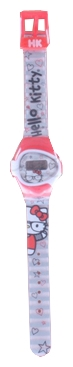 Wrist watch Hello Kitty HKRJ6-2 krasnyj for children - picture, photo, image