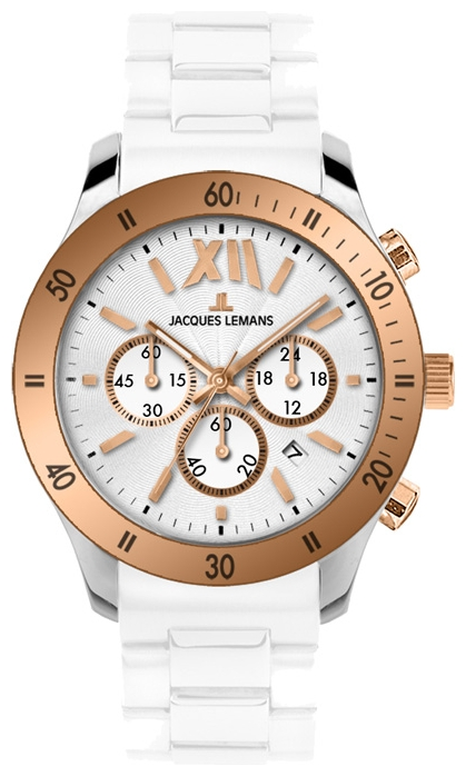 Wrist unisex watch Jacques Lemans 1-1586R - picture, photo, image