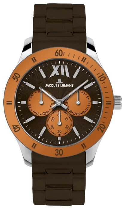 Wrist unisex watch Jacques Lemans 1-1691Q - picture, photo, image