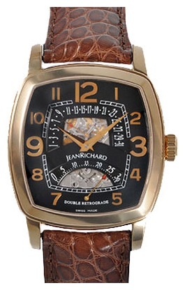 Wrist watch JEANRICHARD 23116-49-60H-AAE for Men - picture, photo, image