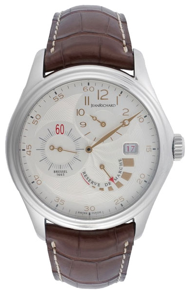 Wrist watch JEANRICHARD 63112-11-10A-AAED for Men - picture, photo, image