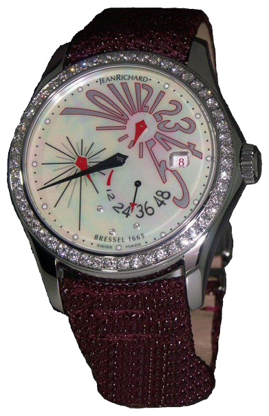 Wrist watch JEANRICHARD 63112-D11-A70B-AV5D for women - picture, photo, image