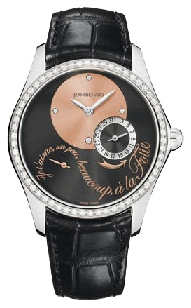 Wrist watch JEANRICHARD 64143-D11-A61B-AA6D for women - picture, photo, image