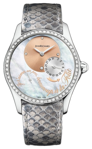 Wrist watch JEANRICHARD 64143-D11A-71A-AG7D for women - picture, photo, image