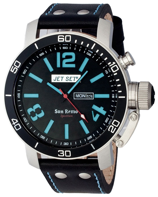 Wrist watch Jet Set J3280B-367 for Men - picture, photo, image