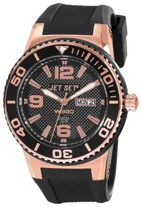 Wrist unisex watch Jet Set J5545R-267 - picture, photo, image