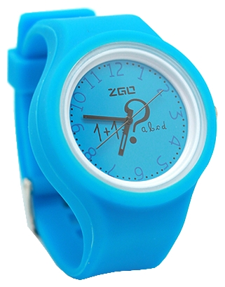 Wrist unisex watch Kawaii Factory Arithmetic (golubye) - picture, photo, image