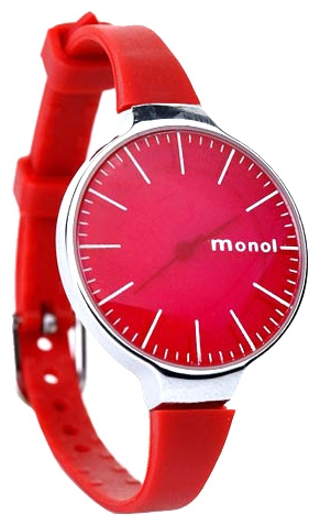 Wrist watch Kawaii Factory Monol misty (krasnye) for women - picture, photo, image