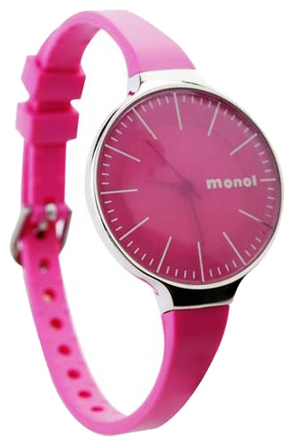Wrist watch Kawaii Factory Monol misty (yarko-rozovye) for women - picture, photo, image