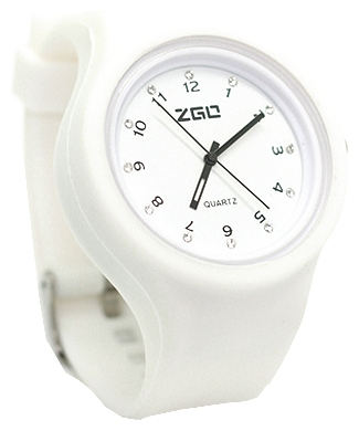 Wrist unisex watch Kawaii Factory Strass plastic (belye) - picture, photo, image
