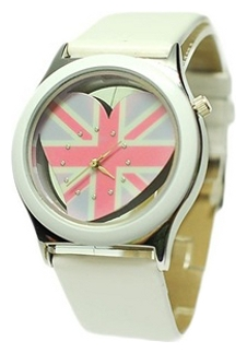 Wrist watch Kawaii Factory UK Love (belye) for women - picture, photo, image