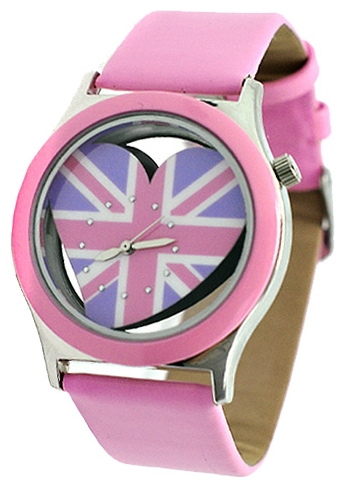 Wrist watch Kawaii Factory UK Love (rozovye) for women - picture, photo, image