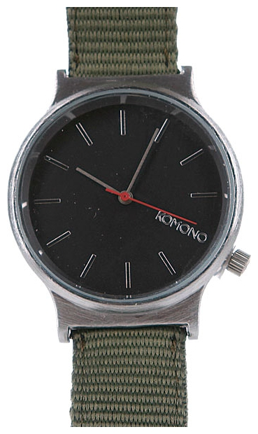 Wrist watch KOMONO Wizard Heritage Series Silver/Army for Men - picture, photo, image