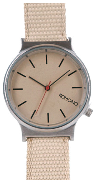Wrist watch KOMONO Wizard Heritage Series Silver/Desert for Men - picture, photo, image