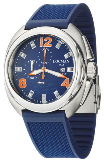 Wrist watch LOCMAN 130BL-BL-RUDEP for Men - picture, photo, image