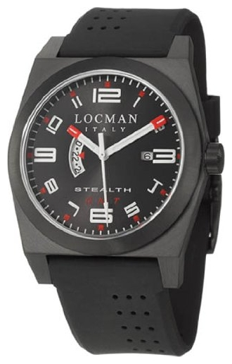 Wrist watch LOCMAN 200BKBKPVBK for Men - picture, photo, image