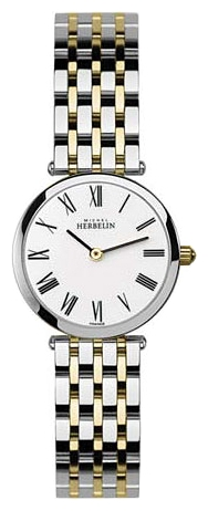 Wrist watch Michel Herbelin 1045-BT01 for women - picture, photo, image