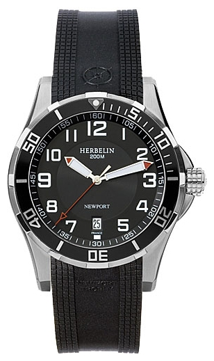 Wrist watch Michel Herbelin 12390-AN04CSM for Men - picture, photo, image