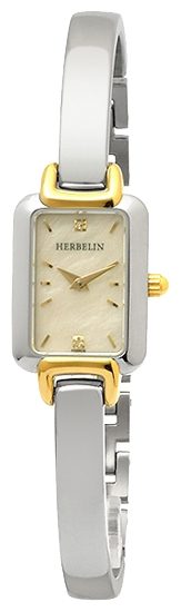 Wrist watch Michel Herbelin 17404-BT59 for women - picture, photo, image