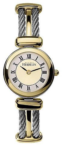 Wrist watch Michel Herbelin 17420-BT22 for women - picture, photo, image