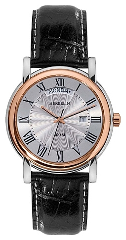 Wrist watch Michel Herbelin 18643-TR01 for Men - picture, photo, image