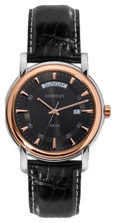 Wrist watch Michel Herbelin 18643-TR14 for Men - picture, photo, image